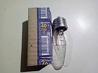 Лампа накаливания (ЛОН) Искра свеча Е-14 40 Вт