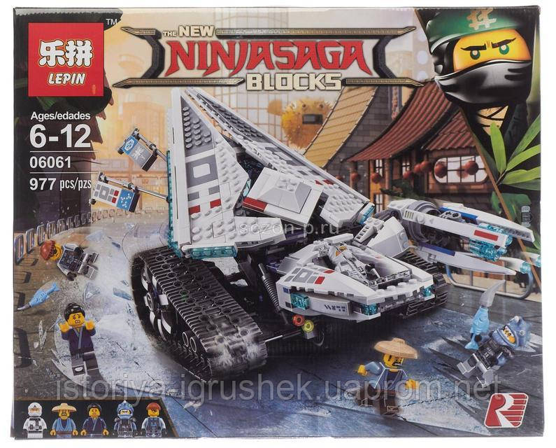 Конструктор Ninjago Movie Lepin 06061 (аналог Lego 70616)