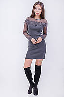 Короткое вечернее женское платье