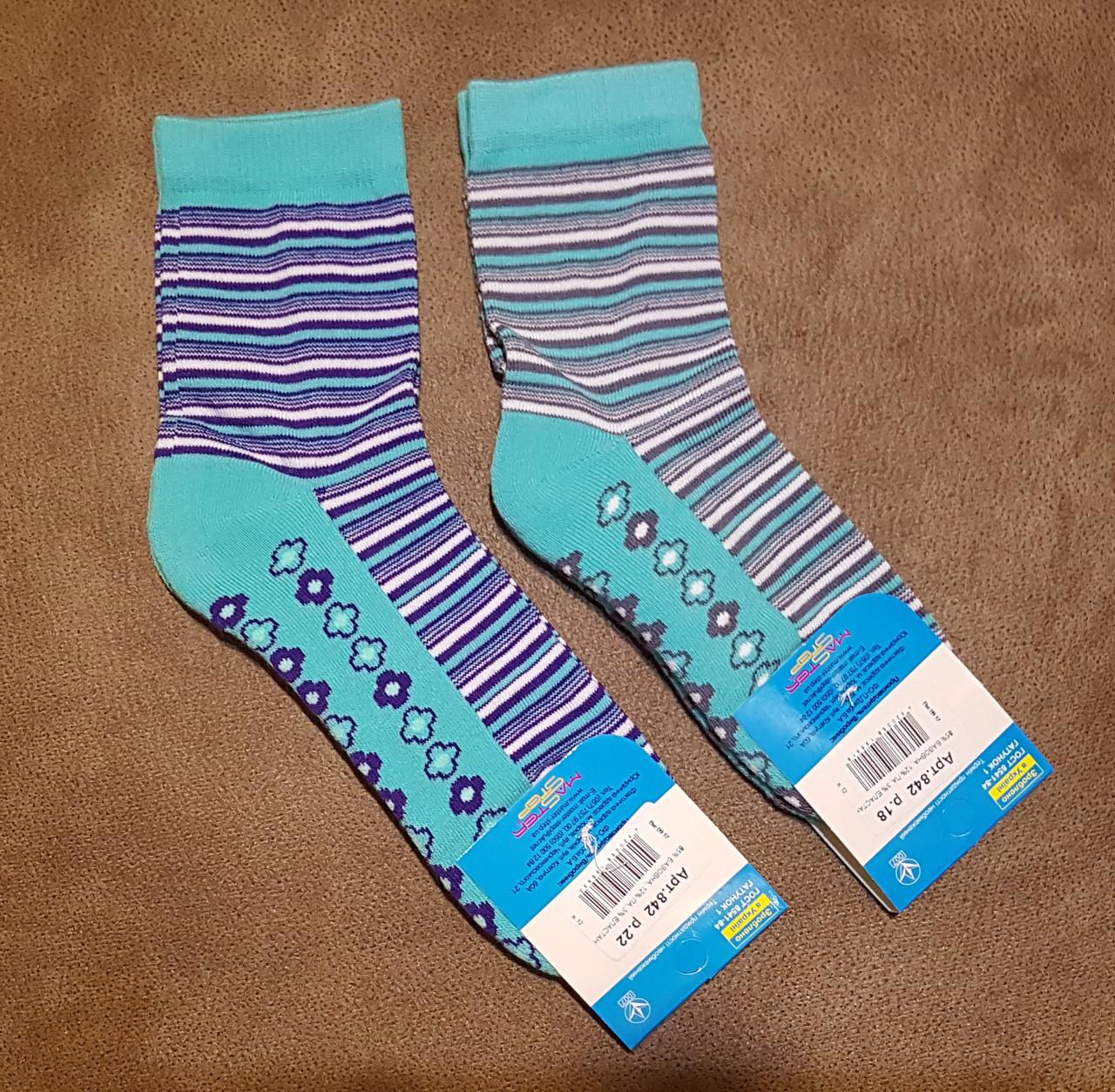 Носки с махровой ступней, размер 18 /27-29р.