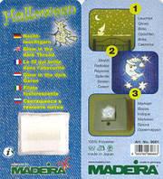 9661 Светящиеся в темноте нитки Madeira (1 катушка 100м)