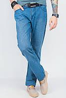 Мужские джинсы классические, однотонные AG-0003767 Светло-синий