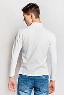 Гольф мужской под горло 201F005 (Белый)