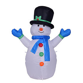 Снеговик надувной 180 см