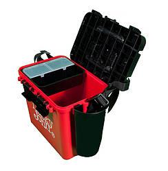 Ящик зимовий пластиковий (високий) LUCKY JOHN (LJ2050)