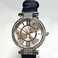 Часы кварцевые на ремешке SLAVA SL10057 S W Bl