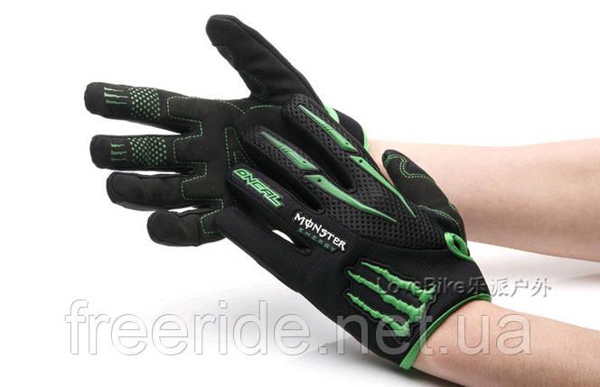 Велоперчатки Oneal Monster Energy (XL) Replica, фото 2
