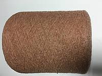 Кашемир 78% ПА 22%, пудровый  цвет, размер 950 метров в 100 граммах.