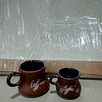 Чашка кавова та капучіно