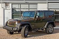 Накладки на капот и крышку багажника на Jeep Wrangler 2007