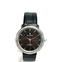 Часы кварцевые на ремешке SLAVA SL10163 S B