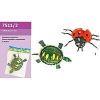 Заводное животное 7511/2 (1303328-9) 2вида,в пакете 12*8*4см