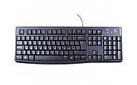 Клавиатура Logitech K120 укр. раскл. USB OEM черная (920-002643)