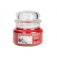 """Ароматическая свеча """"Морское рождество"""" в стекле Village Candle. 315 гр/ 55 часов"""