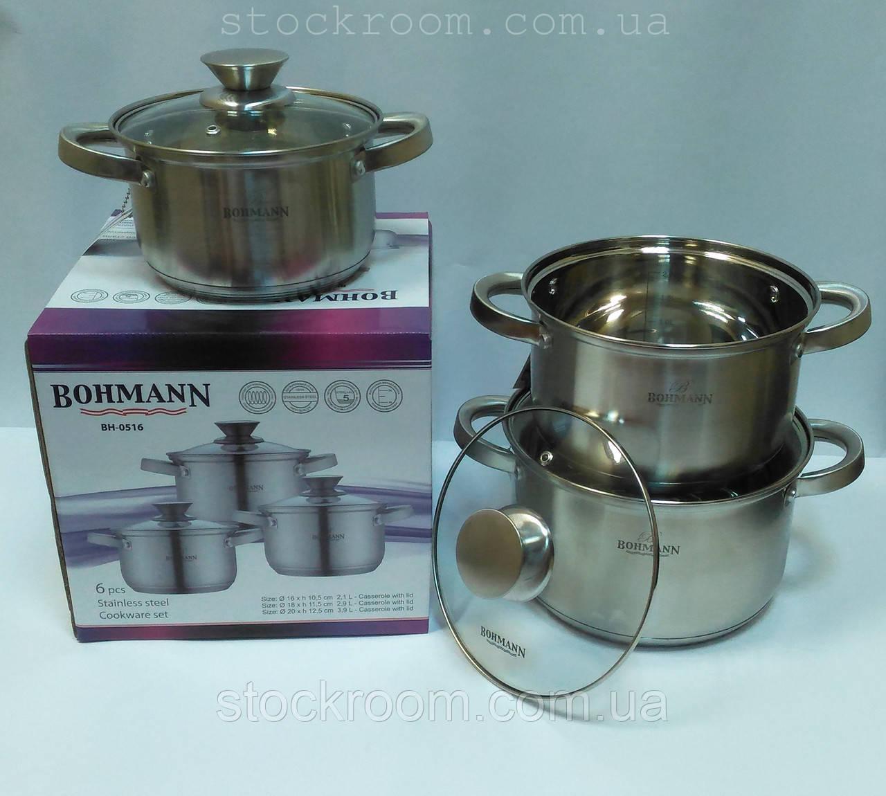 Набор посуды Bohmann BH 0516  6 предметов