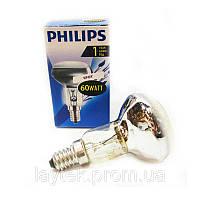 Лампа PHILIPS R-50 рефлекторная 60W E14
