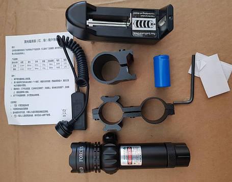 Лазерный целеуказатель, прицел под ружье SIGHT UANE (зеленый) , фото 2