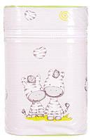 Термоконтейнер Ceba Baby Double   85*155*230мм*2шт бутылочки  серый (зебры)