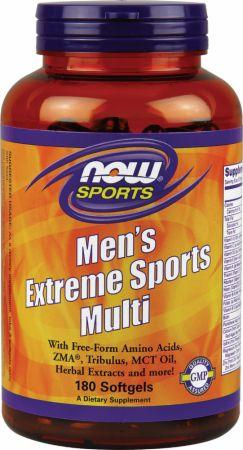 Now Men's Extreme Sports Multi, 180 softgels