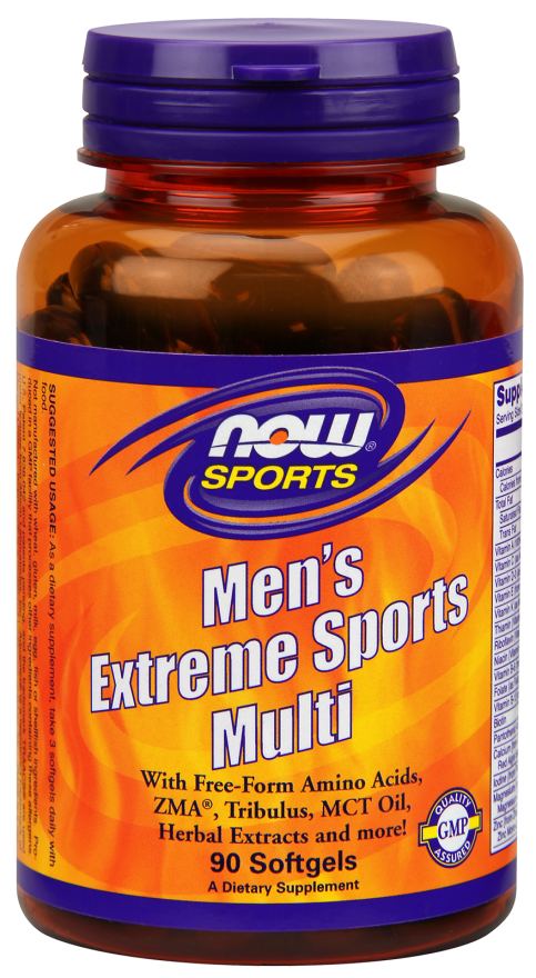Now Men's Extreme Sports Multi, 90 softgels