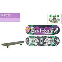 Скейт NS011 (6шт) тонкое крепление колеса PVC, 71*20 см