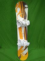 Новий сноуборд Quechua rnx 135 см см + нові кріплення