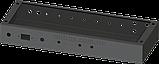 Шасі для гітарного підсилювача на 50Вт, MB-50GA (Ш432 Г165 В64) чорний, RAL9005(Black textured), фото 3