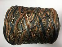 Меринос 100% , коричнево-серый меланж, размер 100 метров в 100 граммах.