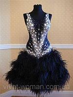 Украшение танцевальных костюмов: бальных.