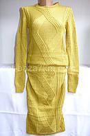 Костюмы женские оптом юбка+кофта купить в Одессе 7 км - вязка (42-46, норма)