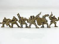 """Набір воїнів """"Штурм-Бат Ураган"""" без коробки (6 воїнів/ колір світло-коричневий), Fantasy"""