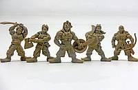 """Набір воїнів """"Загін Ятаган"""" без коробки (5 воїнів/ колір світло-коричневий), Fantasy"""