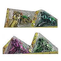 Пистолет 3188 (360шт/2) батар, 4 вида микс, в пакете