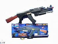 Автомат батар. AK-47 (1520549)  (72шт/2) свет, в коробке 47,5*4*14,5см