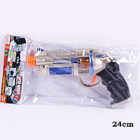 Пистолет батар AK798A (192шт/2) свет., в пакете 24см