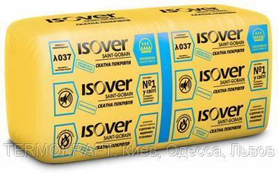 Изолятор ISOVER Скатная кровля- 50, 610х1170х 50мм, (14,274 кв.м)