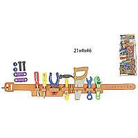 Набор инструментов 899B (96шт/2) пояс, пила, молоток, ключи, плоскогубцы, в пакете 21*4*46см