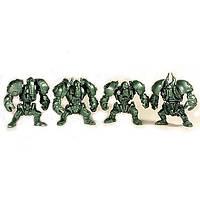 Панцерони загін ЗвеРоботов 4 фігурки (колір зелений), арт. 00060_1, Технолог