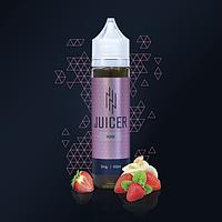 Жидкость для электронных сигарет Juicer YOGI 60мл (клуника+крем)