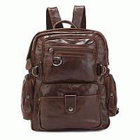Многофункциональный и удобный рюкзак на каждый день S.J.D. 7042Q  Коричневый