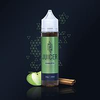 Жидкость для электронных сигарет Juicer CHARLOTTE 60мл 3мг (десерт+яблоки+корица)
