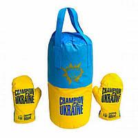 "Боксерський комплект малий ""Україна"" (10), арт. 6353, Danko toys"