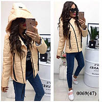 Женская куртка косуха 0069 (47) Код:585739004