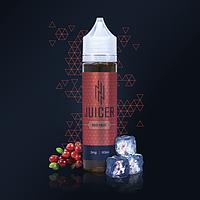 Жидкость для электронных сигарет  Juicer RED HEAT 60мл (клюква+морс+холод)