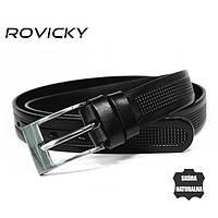 Мужской кожаный ремень ROVICKY PLW-R-14
