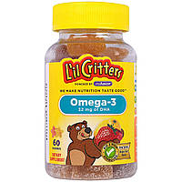 L'il Critters, Омега-3, 60 жевательных таблеток, Omega-3
