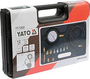 Тестер давления масла Yato YT-73030, фото 2