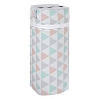 Термоконтейнер Ceba Baby Jumbo 70*80*230мм белый триугольники
