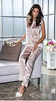 КОСТЮМ СО ШТАНАМИ BONDY 9008 шелковый, пижама