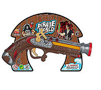 Пиратский набор B6688-1 (72шт/3) мушкет, на планшетке